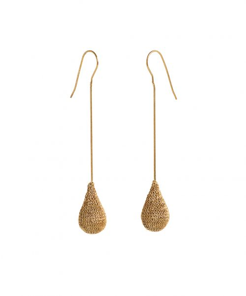 drop earings gold