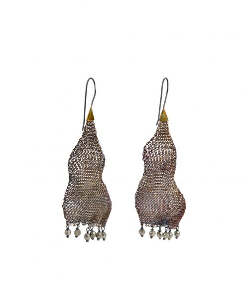 pyrite earings