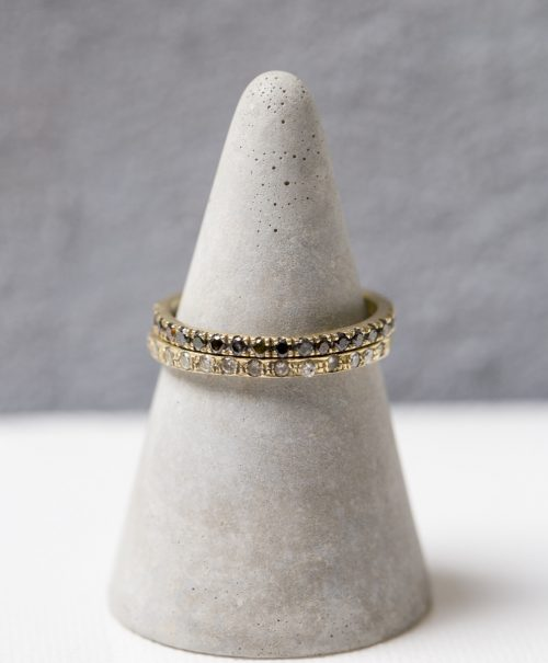 זהב משובץ יהלומים פרופיל