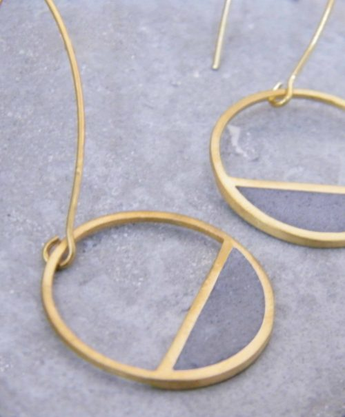 02-Balance_Earrings-Gold_and_Concrete-BAARA_Jewelry4