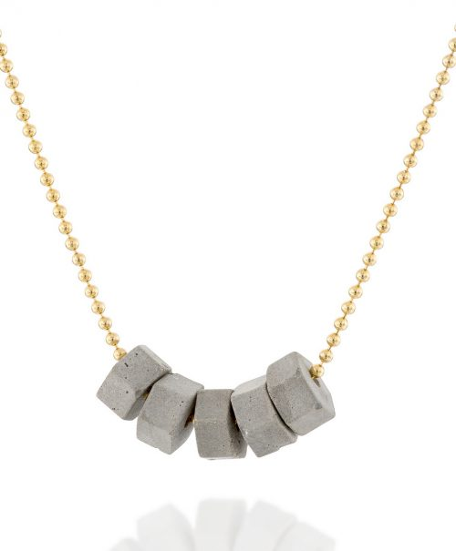 06-Tiny_Concrete_Hexagons_Necklace-Gold_a-BAARAJewelry-high_res