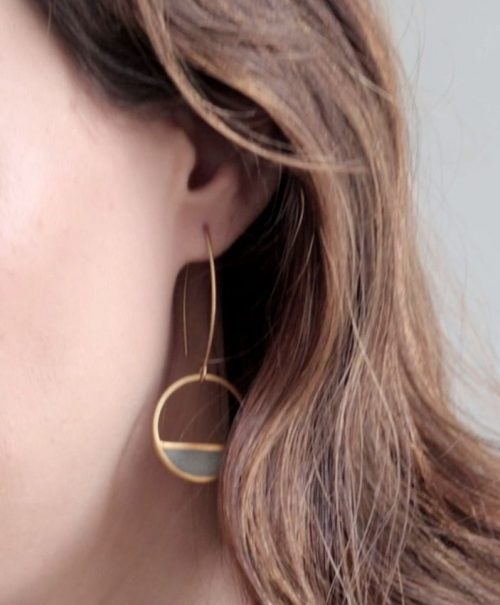 20-Balance_Earrings-Gold_and_Concrete-BAARA_Jewelry10